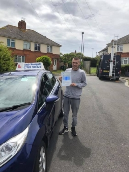 Andy is an excellent and very professional driving instructor. Very patient, understanding, easy to talk to and a great teacher. Andy helped enormously with my confidence and helped me to pass first time. Would highly recommend Andy to anyone learning to drive. Brilliant instructor and a top bloke....